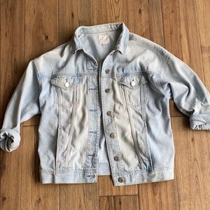 American Eagle Over-sized Jean Jacket